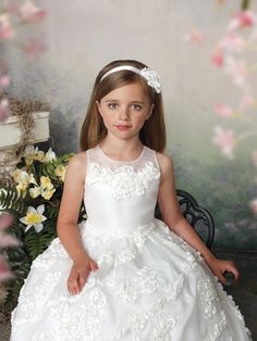 Joan Calabrese First Holy Communion Dresses - CLICK ON PHOTO TO SEE FULL COLLECTION!