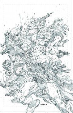 Suicide Squad #4 by Jim Lee *
