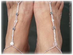 BEACH FOOT JEWELRY, Rose Quartz Heart, Pink and White Bridal Beach Jewelry, Barefoot Sandal Pearl Anklet Yoga Nude Shoes Wedding Bohemian via Etsy http://www.etsy.com/listing/152446968/beach-foot-jewelry-rose-quartz-heart?ref=teams_post