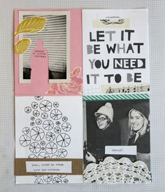 gives a DIY approachable feel but is still neat and curated. It harkens to the spirit and history of zine but also keeps it classy. Kunstjournal Inspiration, Art Journal Inspiration, Journal Ideas, Poster Design, Book Design, Layout Design, Design Design, Print Design, Art Zine