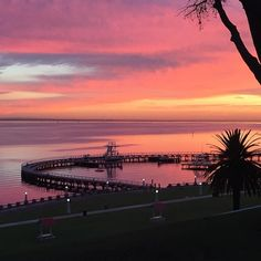 Ahhh #geelong you're so pretty!! #geelongwaterfront #sunrise #easternbeach #pastelsky by scampeyes http://ift.tt/1JtS0vo