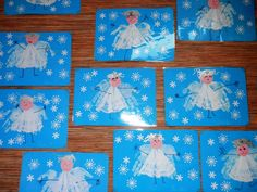 Christmas Art, Christmas Projects, Winter Christmas, Christmas Themes, Christmas Decorations, Diy And Crafts, Crafts For Kids, Winter Art Projects, Christmas Activities For Kids