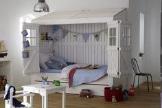 Łóżko domek tommebel - polskie meble w stylu skandynawskim