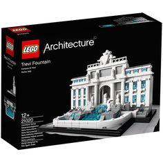 Con Lego Architecture podemos construir la fuente de la Fontana de Trevi, con mucha paciencia y siguiendo las instrucciones, conseguirás descubrir la grandeza de este monumento.