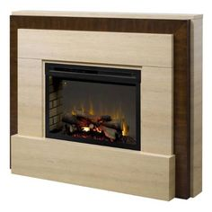 Dimplex GDS33HG-1240TR Gibraltar Electric Fireplace in Travertine with Acrylic Ice only$1,749.99 at  http://www.thebestdealsonline.com/