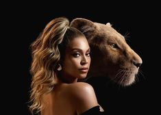 Beyonce as Nala: The 37 year old singer/actress portrays Nala in The Lion King, the biggest star in a star-studded cast, and she spoke about how she connected to the original film as a kid, and how being a mother helped influence her to join the cast Kenyan Artists, African Artists, Donald Glover, Pierce Brosnan, Ozzy Osbourne, Black Sabbath, Beyonce Beyonce, New Music, Celebrities