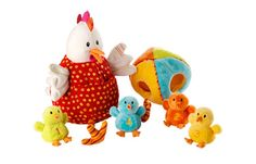 Ophelie and Her Chicks by Lilliputiens - $40.00