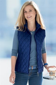 Pure Silk Zip-Up Gilet Fall Winter, Autumn, Pure Silk, Zip Ups, Vest, Pure Products, Jackets, Summer, Fashion