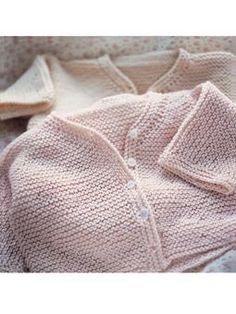 Garter Stitch Cardigan ~ Free Knitting Pattern
