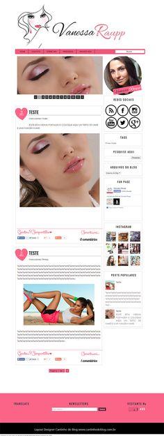 Cantinho do blog Layouts e Templates para Blogger: Blog