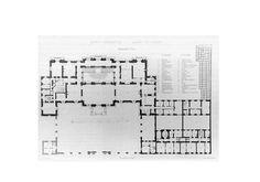 Rothschild Palais, Vienna.  --  the 1st floor (premier étage).
