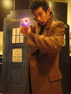 Grant Imahara as the 10th Doctor. What is my life?