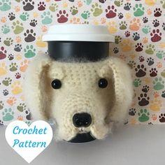Amigurumi Golden Retriever  Crochet Dog Pattern  by HookedbyAngel