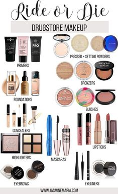 I've seen Youtubers talk about their Ride or Die products and I am to share my Ride or Die Drugstore Makeup. These products I have used so many times and will continue to use. #rideordie #rideordiemakeup #drugstoremakeup #drugstorebeauty #drugstore #makeup #rimmellondon #nyxcosmetics #maybelline #covergirl #makeuprevolution