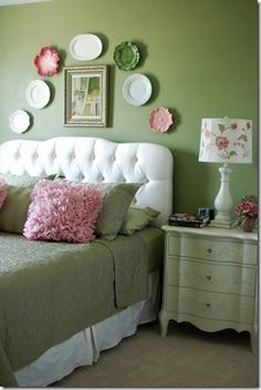 pink and green-not just for girls nurserys