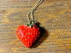 Gold Pendant Necklace, Gemstone Necklace, Crystal Necklace, Unique Necklaces, Beautiful Necklaces, Strawberry Farm, Stone Gold, Hippie Boho, Sterling Silver Jewelry