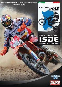 FIM International Six Days Enduro Review 2013 DVD. 53 Mins. Duke Video 2350N