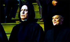 Severus Snape's Smiling