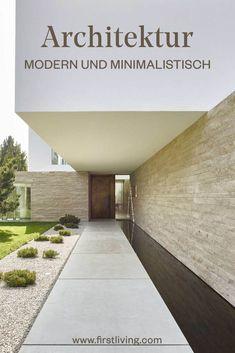 Die besten 25 minimalistische architektur ideen auf for Minimalistische lebensweise