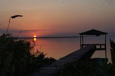 Amanecer en Formosa. Más info de viajes por Argentina en www.facebook.com/viajaportupais