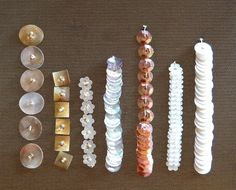 quelques exemples de pose de paillettes et de cuvettes à l'aiguille ou au crochet de Lunéville