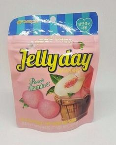 [[ORION] Jelly day Peach Vitamin C 49g Korea Food For snack candy  #orion