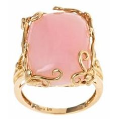 @Overstock - Pink opal ring14k yellow gold jewelryClick here for ring sizing guidehttp://www.overstock.com/Jewelry-Watches/Dyach-14k-Yellow-Gold-Pink-Opal-Fashion-Ring/5732210/product.html?CID=214117 $328.99