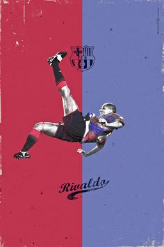 RIVALDO One of my favorite players for him i started to use number eleven History Ballon D'Or by Giuseppe Vecchio Barbieri, via Behance