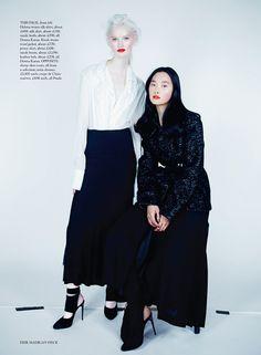 Harper's Bazaar UK Agosto 2014   Ji Kwak, Herieth Paul + Mais por Erick M Heck [Editorial]