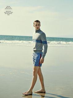 Niclas Gillis Heads to Venice Beach for GQ Style Korea image Niclas Gillis Model 003