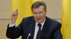 Viktor Yanukovych decries Crimea annexation