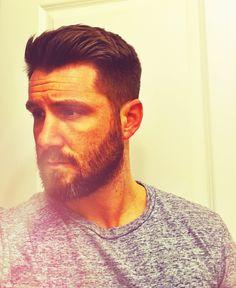 Nathan Mills, Mens hair Mens Modern Hairstyles, Men's Hairstyles, Good Looking Men, How To Look Better, Hair Cuts, Mens Hair, Mens Fashion, Beards, Hair Styles