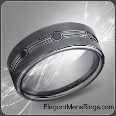 Tungsten and Black Diamonds...electrifying!