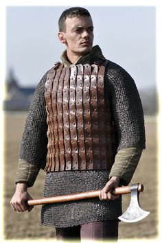 leather lamellar armour type