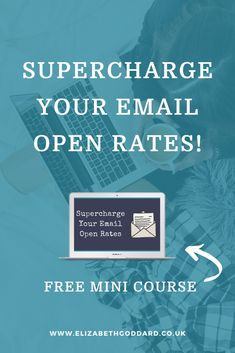Supercharge your email open rates! Why? Because email marketing only works if people actually read your emails! #emailmarketing #emailmarketingtips #emaillist