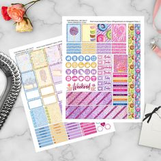 "paperhoard: This week's Friday Freebie is called ""The Sweet Life"" & available now!"