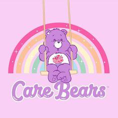 Bear Wallpaper, Cute Wallpaper Backgrounds, Wallpaper Iphone Cute, Cute Cartoon Wallpapers, Pattern Wallpaper, Care Bears, Care Bear Party, Care Bear Birthday, Looney Toons