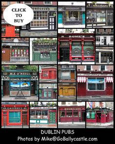 Ireland Pubs, Dublin Pubs, Poster Prints, Posters, Prints For Sale, Be Perfect, Irish, Collage, Den