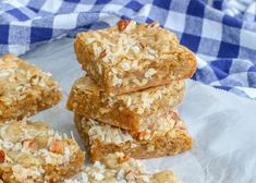 Coconut Pecan Blondies | Barefeet in the Kitchen Coconut Pecan Frosting, Coconut Peanut Butter, Coconut Bars, Coconut Cookies, Peanut Butter Fudge, Pecan Recipes, Gf Recipes, Brownie Recipes, Dessert Recipes