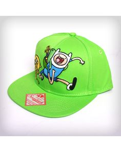 Adventure Time Green Snapback Hat