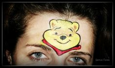 Winnie the pooh face painting