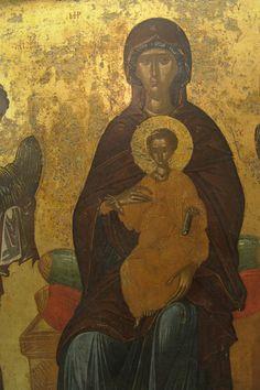 Medieval, Byzantine Art, Painting, Virgin Mary, Mosaic, Art, Fresco, Byzantine Icons, Byzantine
