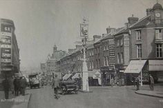 Sutton High Street Sutton Surrey England in 1925