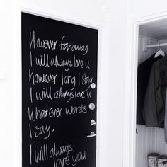 hannasinspo - Chalkboard Quotes, Art Quotes, Love You, Black And White, Sayings, Words, House, Ideas, Te Amo