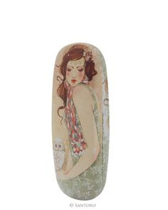Glasses Case - Mademoiselle Snow - Santoro - Willow Collection #santoro #santorolondon #glassescase #willow #mademoisellesnow #minasmoke