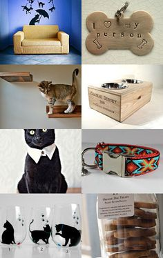 Fun things for the cat, the dog & the human to enjoy! If you're an animal lover check out these awesome items :)  https://www.etsy.com/treasury/MTQ1NzA0NDV8MjcyMjIyMjYyOQ/its-raining-cats-dogs?ref=af_you_tre
