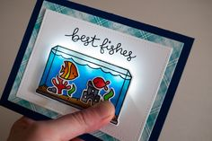 the Lawn Fawn blog: More Fun with Chibitronics + a Giveaway! Best fishes
