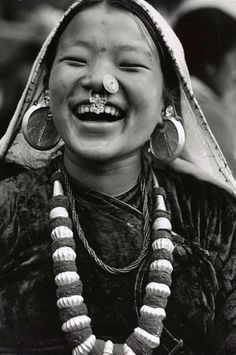 Sikkimese Nepali girl | Between 1965 and 1971 | ©Alice S Kandell