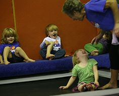 """3 YEAR OLD at #TheKlubGymnastics : """"These 45 minute classes are offered in three different age groups: the 3, 4, and 5 year old classes. Students are learning how to roll, do handstands and cartwheels utilizing the other equipment in the gym; the spring floor, rings, trampoline, bars, and balance beam."""" LEARN MORE: http://www.gymnasticslosangeles.com/classes/age/3_year_old.html #klubgymnastics #kidsgymnastics #gymnasticslosangeles #childrensgymnastics #gymnasticsla #gymnastics #theklubgym"""