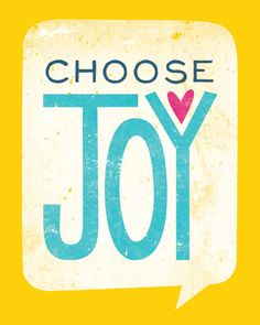 Image of Choose Joy {Print}
